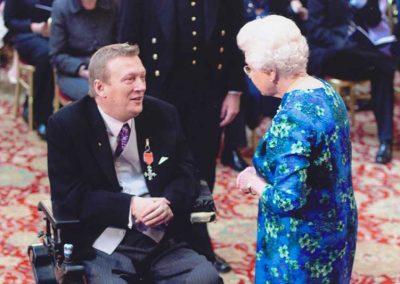 Geoff Holt - MBE Award