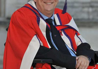 Geoff Holt - Solent University Honorary Doctorate of Science