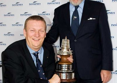Geoff Holt - Yachtsman of the Year Award 2011